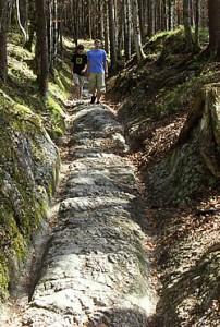 Römerweg bei Klais