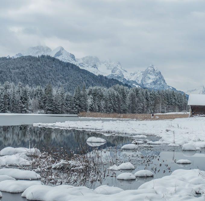 Winter am Geroldsee