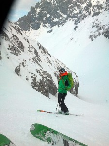 Skitour Dammkar
