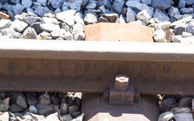 Gleis von 1930 in Klais